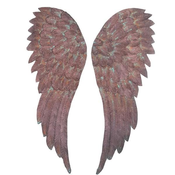 kahverengi eskitme melek kanatları