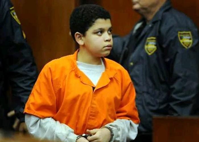 El niño condenado a cadena perpetua