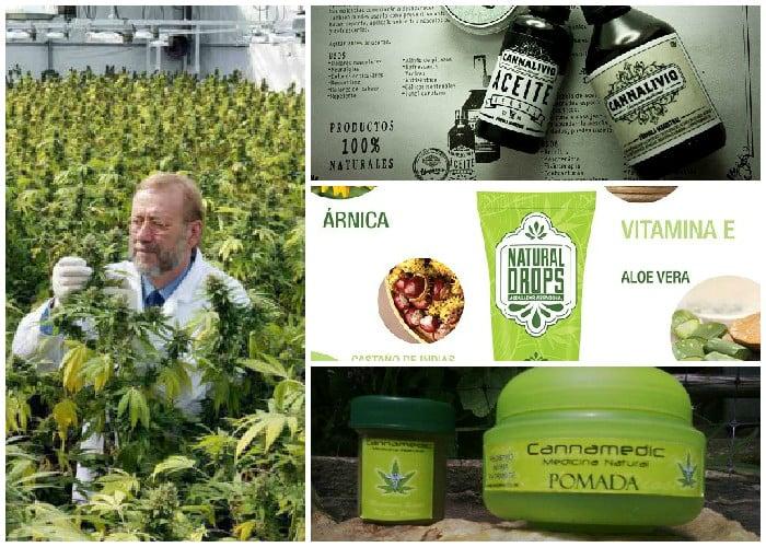 Remedios de marihuana con sello colombiano