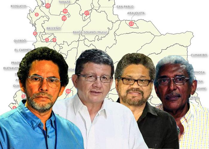 El poder de las Farc en el territorio