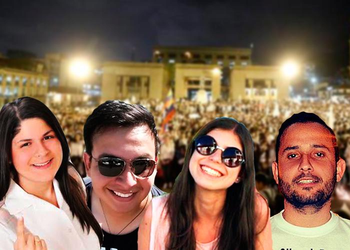 Los estudiantes que a punta de Facebook pusieron a marchar a Colombia