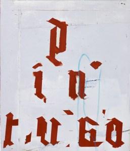 st (segunda piramide) oleo s lienzo, 68 x 58 cm