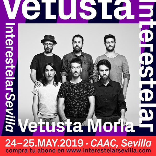 Los madrileños, Vetusta Morla, tocarán en Interestelar Sevilla, en 2019.