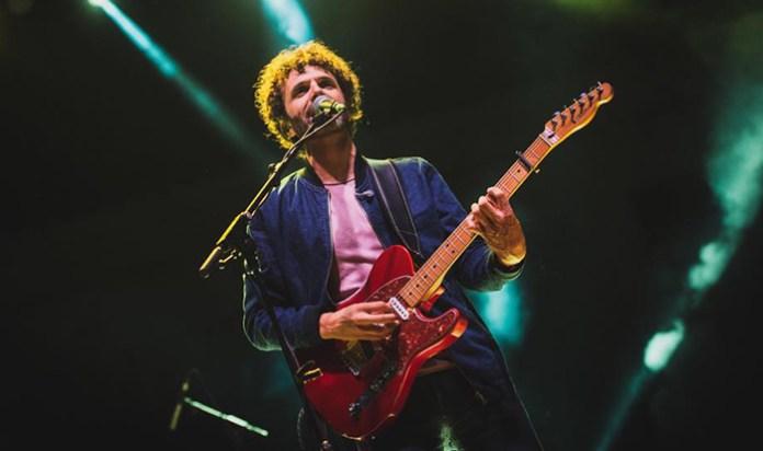 Miguel Rivera, durante una de sus actuaciones en directo.