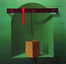 El verde, uno de los colores elegidos por JALO para su exposición en KÖK Tu Cocina.