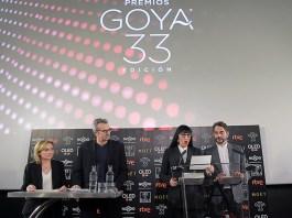Nominados Premios Goya 2019.