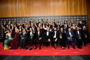 Foto de familia Premios Goya 2019