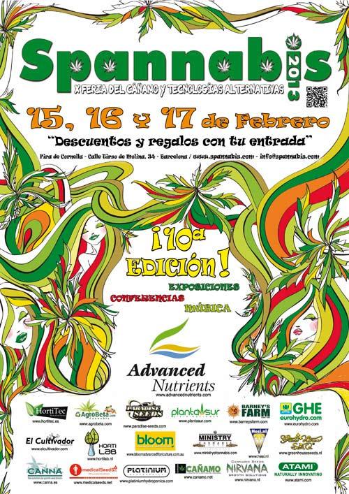 Feria del cannabis Spannabis 2013 en Barcelona