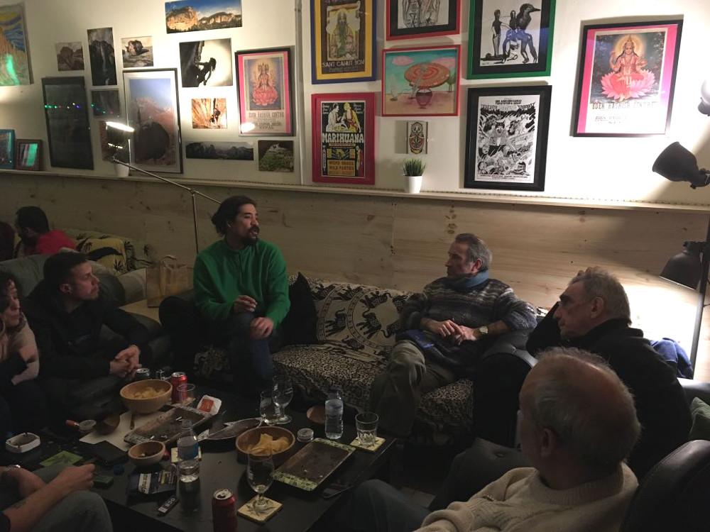 Visita del diputado uruguayo Julio Battistoni
