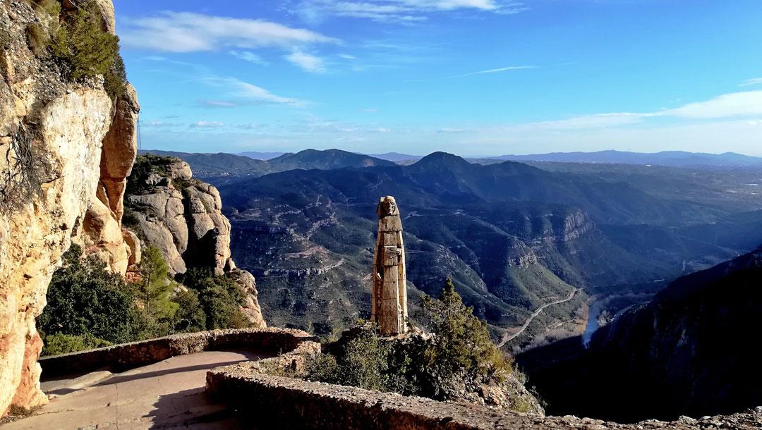 Salida hacer senderismo a Montserrat