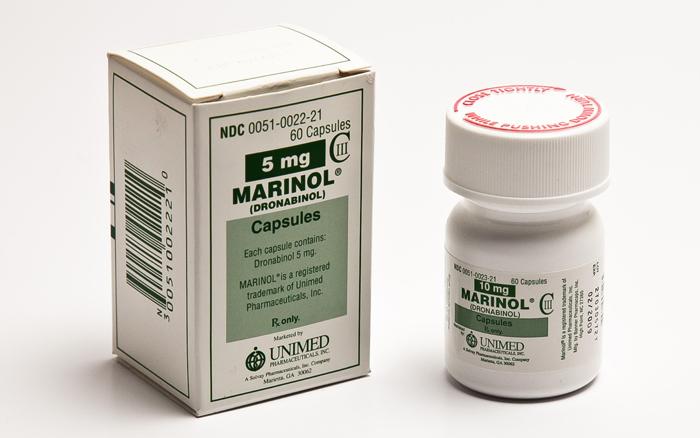 Medicamentos con cannabinoides: MARINOL