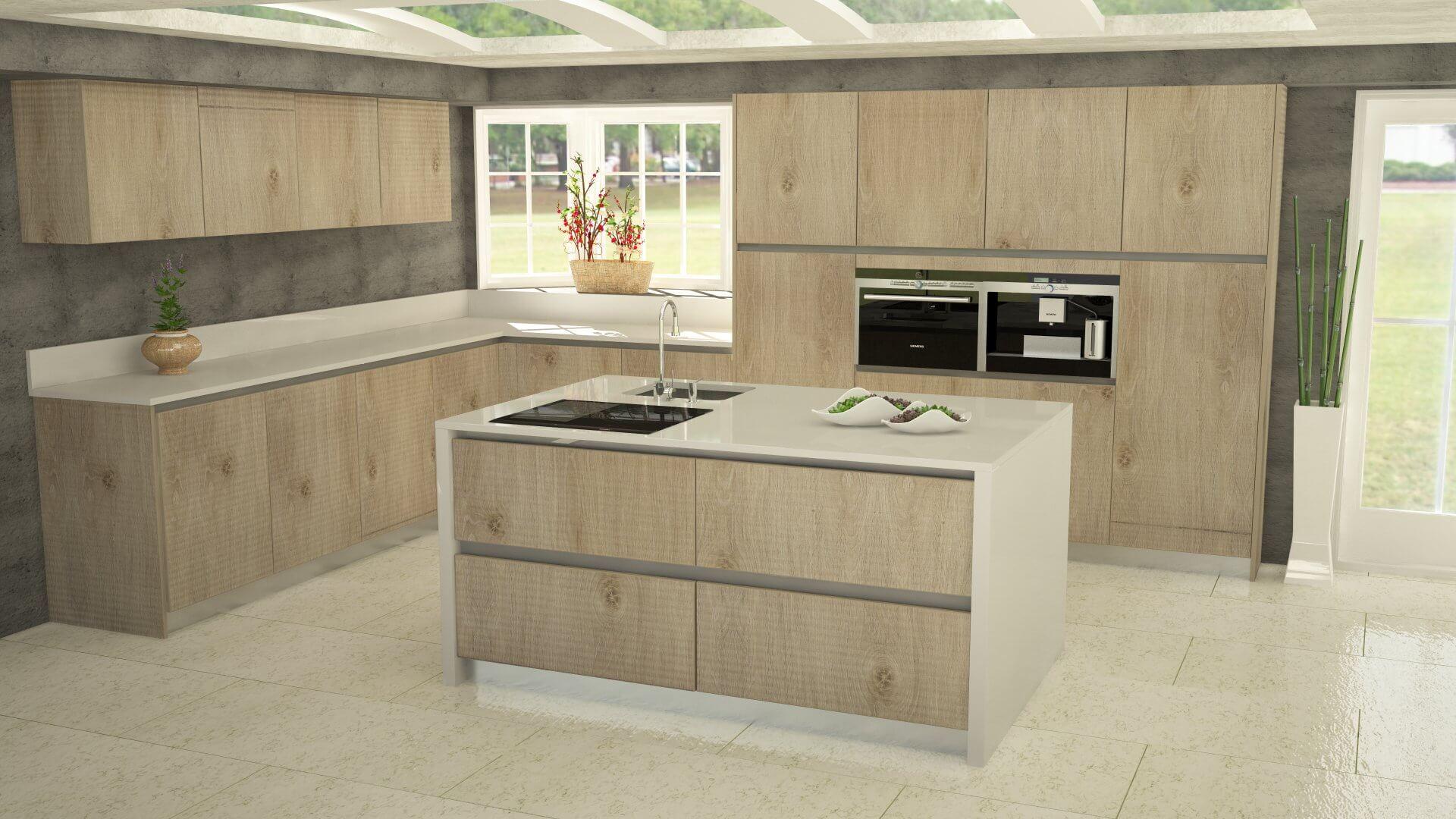 Configurador muebles de cocinas 2017 LASAN DECORACION