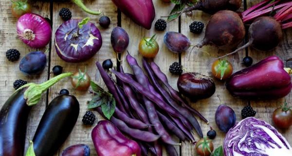 Cuisine Couleur Violet