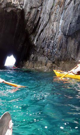 Ruta Kayak La Iglesiona del cabo vidio (Cudillero)