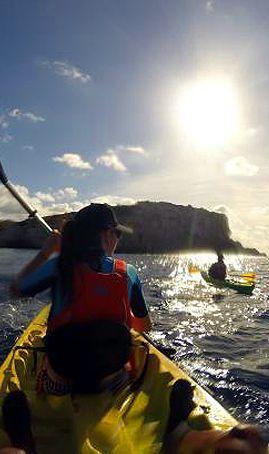 Bautismo Kayak desde Playa de la Marina Ribadesella
