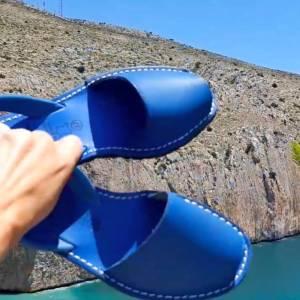 menorquina azul las caprichosas