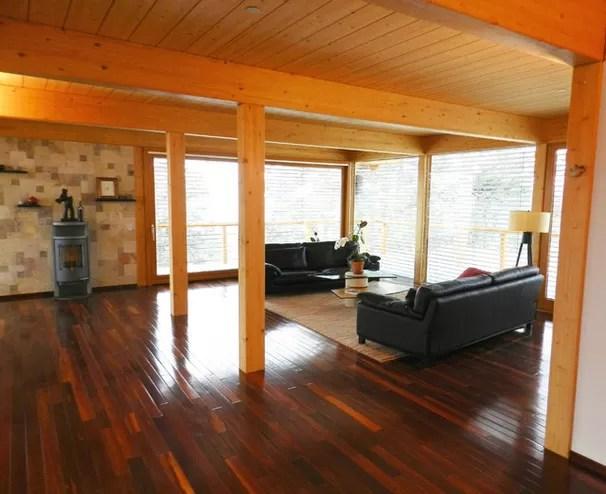 Casa prefabricada estilo Alemn en las montaas de Colorado