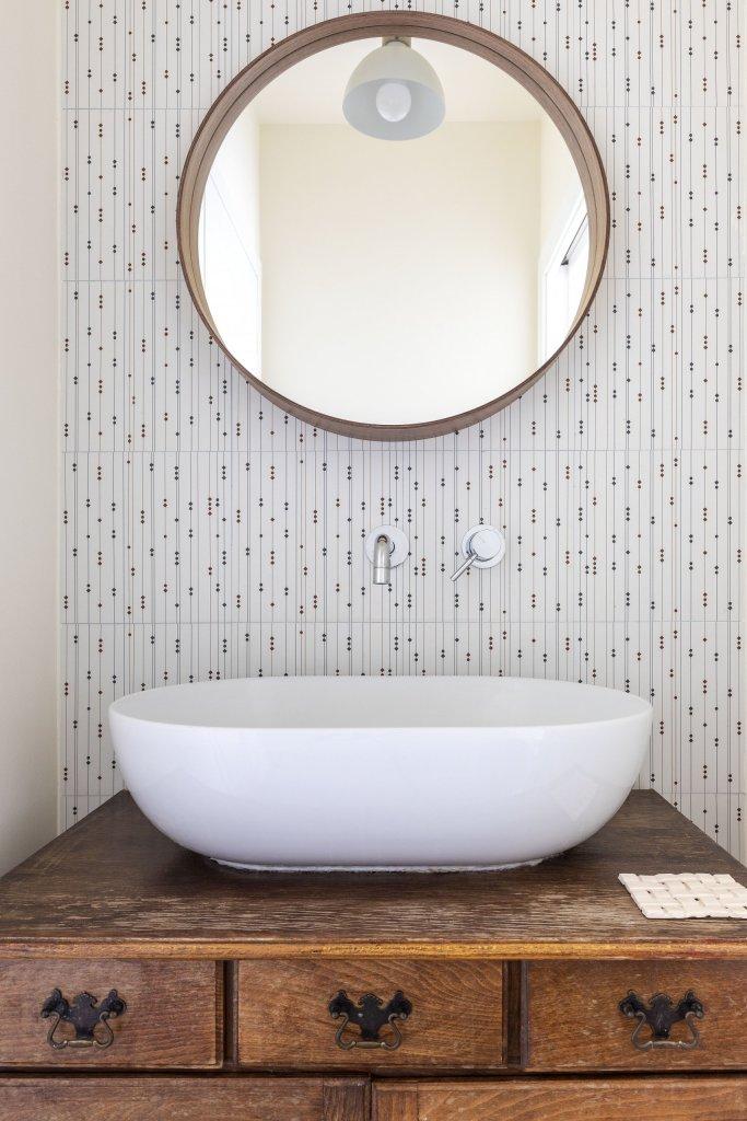 recuperare mobile vintage per lavabo