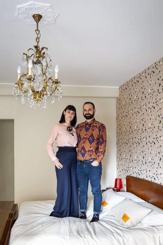appartamento eclettico milano