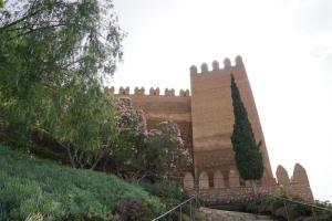 Mi morena sentir el sur mi sur en la Alcazaba de Almería
