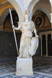 Mi morena Mujer libertad antes que feminismo la diosa Atenea de Sevilla la libertad
