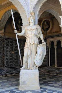 Mi morena la diosa Atenea de Sevilla