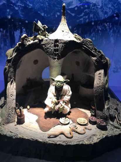Mi morena Star Wars Yoda