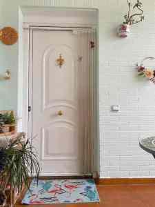 Mi morena Mi hogar nuestro hogar puerta