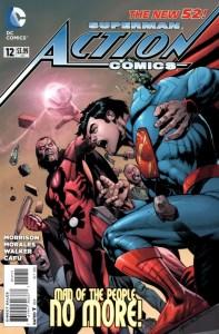 Action Comics Vol.2 #12. Por Rags Morales y Brad Anderson.