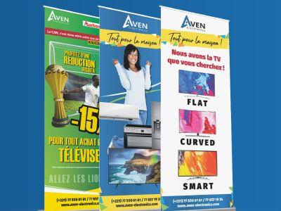 Kakemono - Aven Electronics