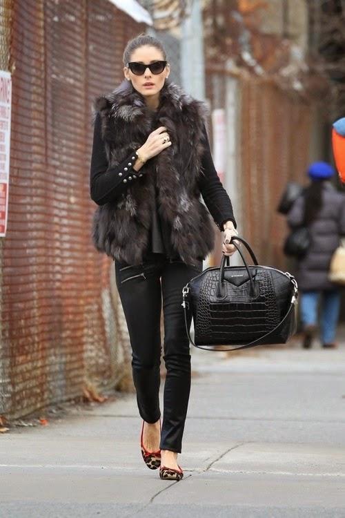 Olivia Palermo Bolso antigona Givenchy