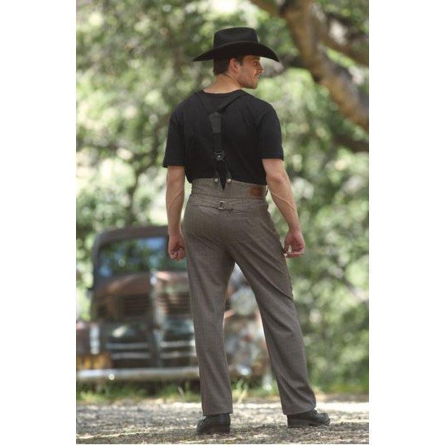 Pantaloni uomo a vita alta Hudson Stars  Stripes  Abbigliamento Western  La Selleria Online