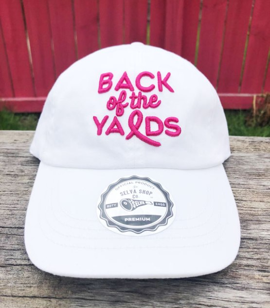 78b7254a Back of the Yards Ribbon Dad Cap - White **Limited Edition** - La ...