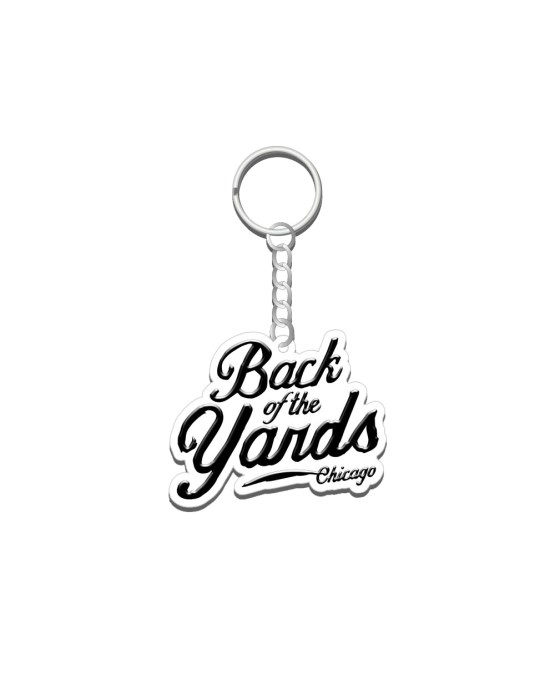 Back of the Yards 2D Keychain
