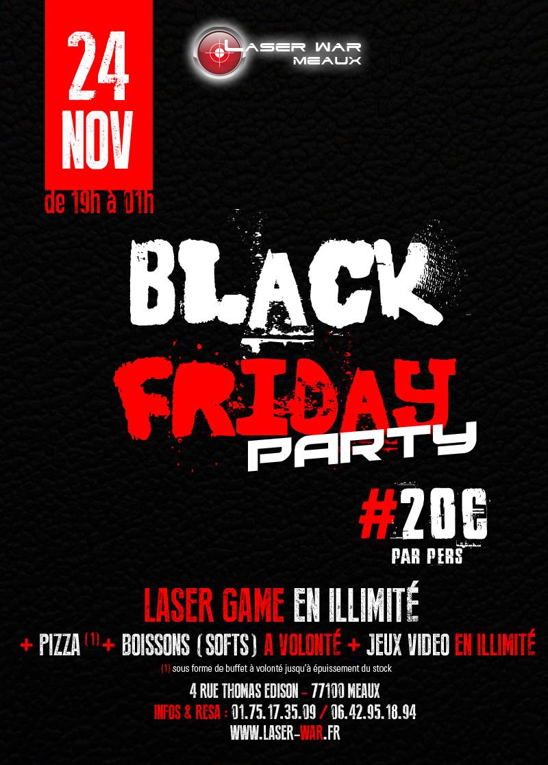 Black Friday Party  Laser War