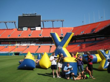 Laser Tag Battle at Sun Life Stadium Miami
