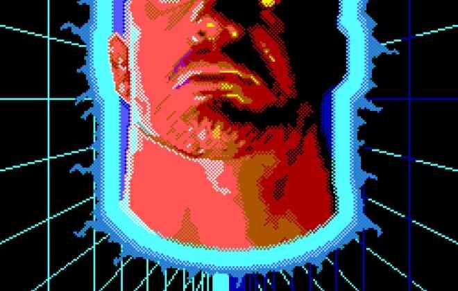 Hologram Man Poster Laser Blast Film Society