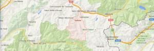 Map Valloire