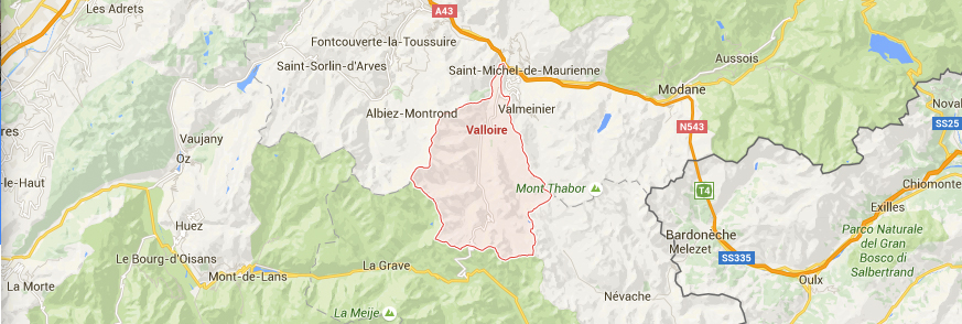 contact carte Valloire