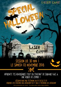 halloween lasercamp