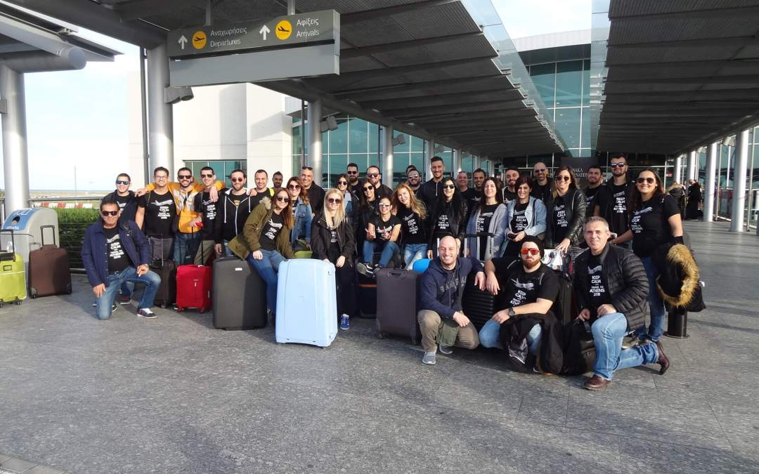 Lasercharge Trip to Athens
