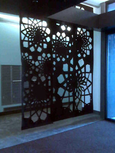 r Interior design laser cutting felt panels laser cut