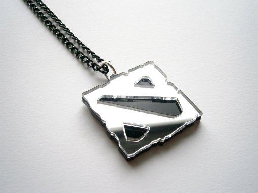 Black Dota Necklace