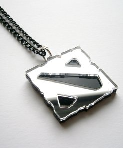 Black Dota Necklace