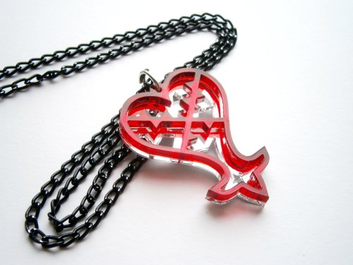 Kingdom hearts necklace 1