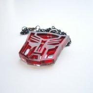 Optimus Prime Necklace