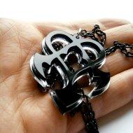 Kingdom Hearts Nightmare Dream Eater Emblem Necklace