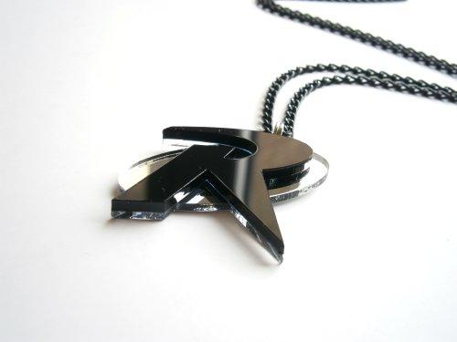 Black Robin Necklace