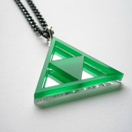 Green Zelda Necklace