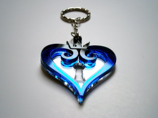 Kingdom Hearts Keychain